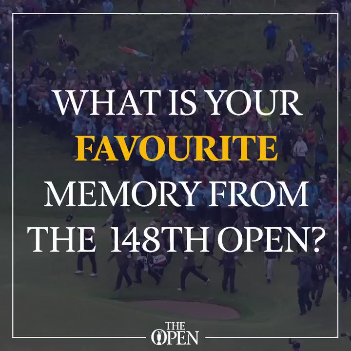 What will you remember most from Royal Portrush? 🤔