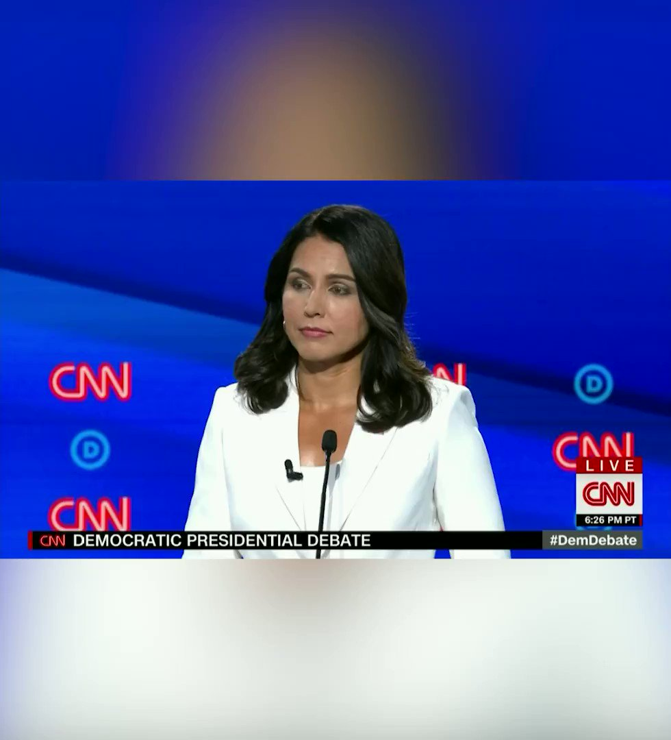 Tulsi takes down Kamala Harris over her record on criminal justice reform, the death penalty, and the war on drugs -TULSI2020 #DemDebate #Tulsi2020 tulsi.to/LegalizeIt