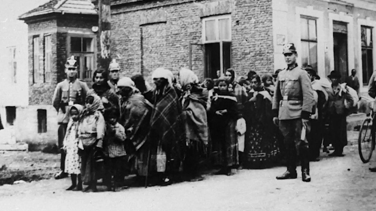 """""""41% of British people believe that GRT communities are a threat to Britain's success & prosperity."""" (Protection Approaches survey). In many British communities, that prejudice survives as 'the last acceptable form of racism' #RomaGenocideRemembranceDay"""