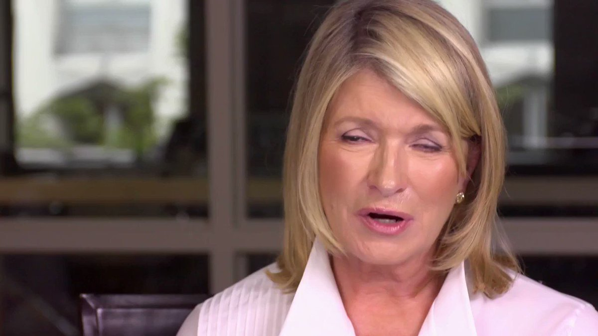 Entrepreneurs take a little idea, a germ of an idea, and take over the world. - The one and only @MarthaStewart talks about her early days as a model to becoming the first woman in America to be a self-made billionaire.