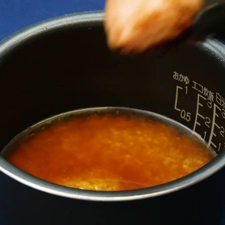 『炊き込み角煮TKG』