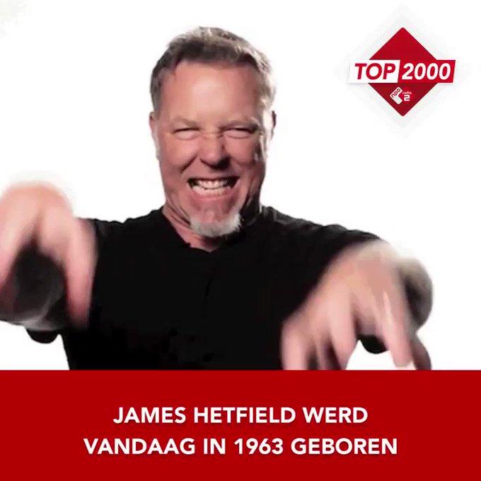 Happy birthday James Hetfield (
