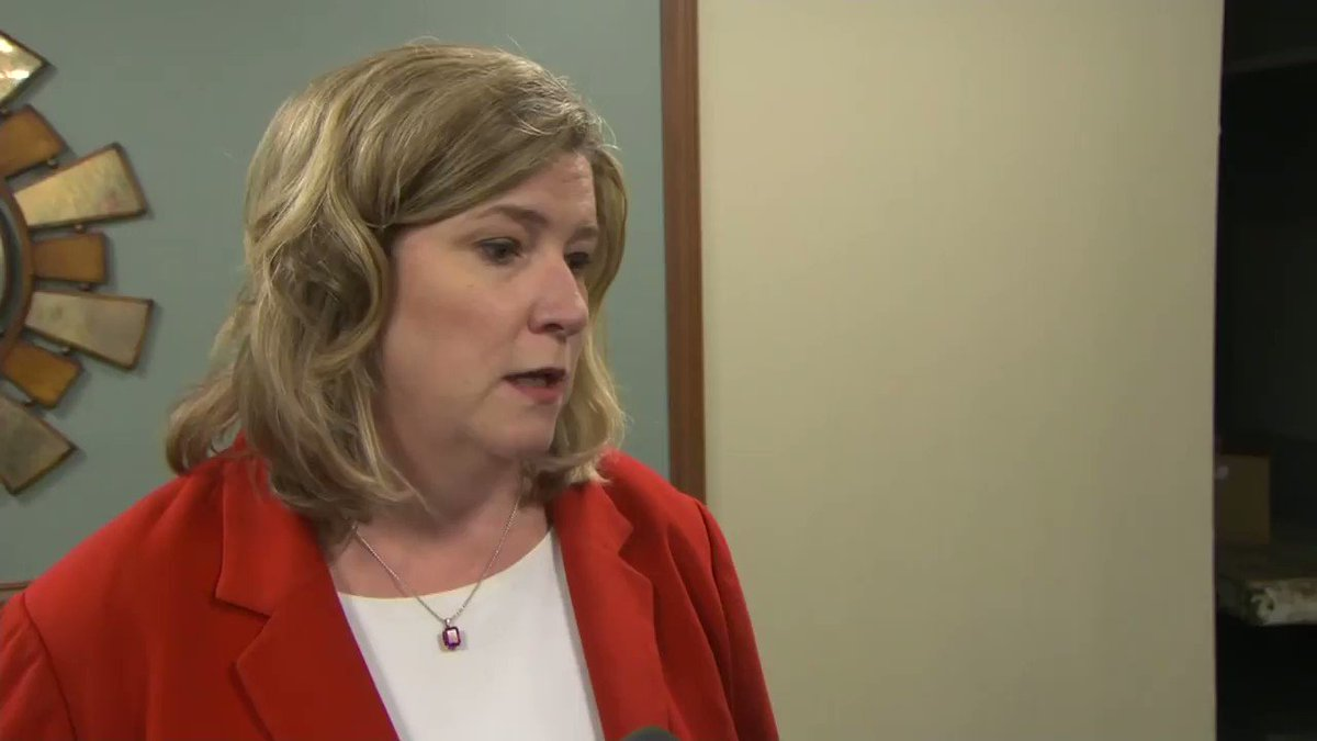 """Mayor of Dayton Nan Whaley: """"I've heard that Trump's coming Wednesday but I have not gotten a call. And you know he might be going to Toledo, I don't know."""""""