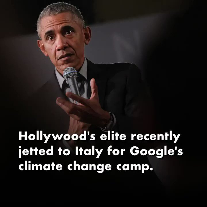 That one time celebs took 114 private jets to attend Google's climate change camp in Italy... https://t.co/a7KEmFBvmg