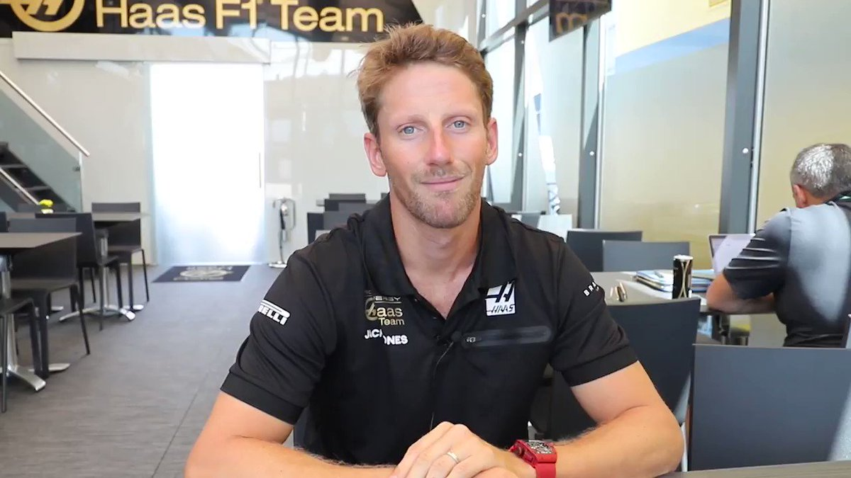 Say what you're thinking! 🧠  We say a word @RGrosjean gives his Initial Reaction 👇