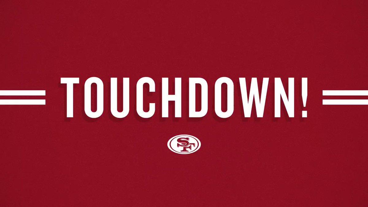 Jeff Wilson Jr. runs it in for the #49ers TD! #SFvsDEN