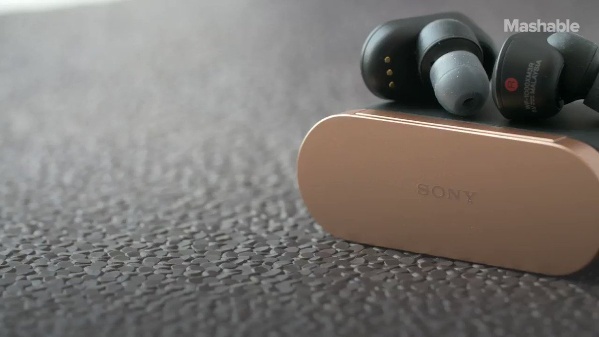 Sony's new wireless earbuds will kill the noise around you