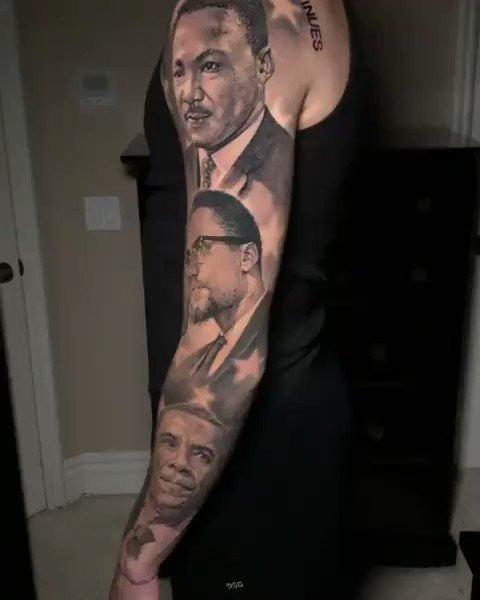 Lonzo Gets Tattoo Sleeve