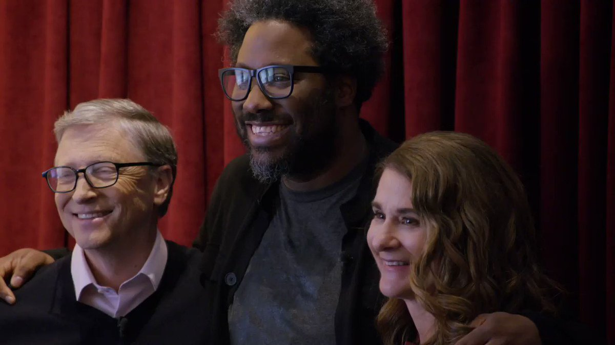 Melinda and I are big fans of @DonorsChoose , and we were thrilled to learn that @WKamauBell  is, too. Today, when you support teachers as they prepare to go back to school, your donation will get a 50% boost from our foundation:  https://b-gat.es/31HdDbP