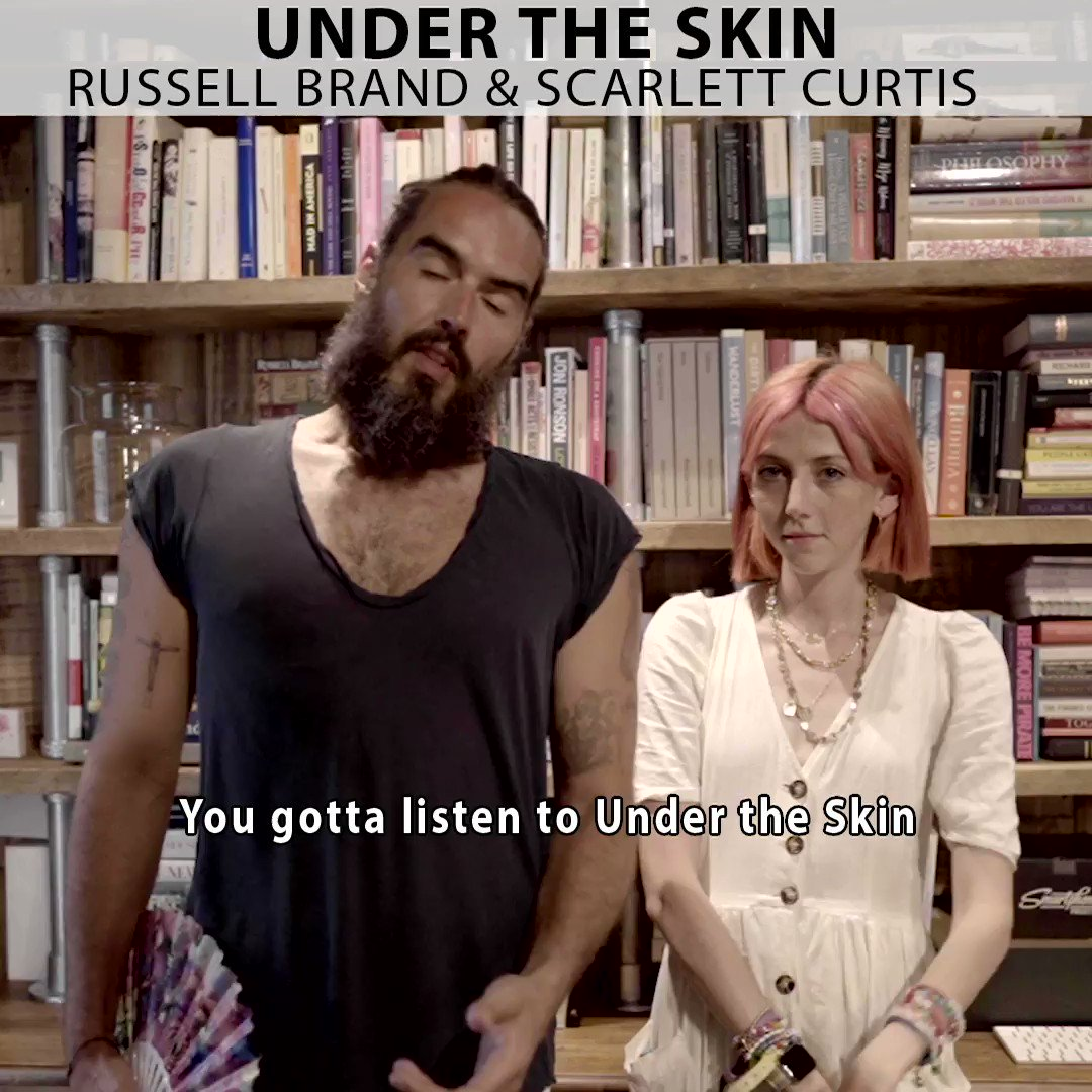 This week's guest on #UnderTheSkin is @scarcurtis!Curator of Feminists Don't Wear Pink & co-founder Pink Protest.Listen this Saturday 17th only on @hearluminary / http://luminary.link/russell