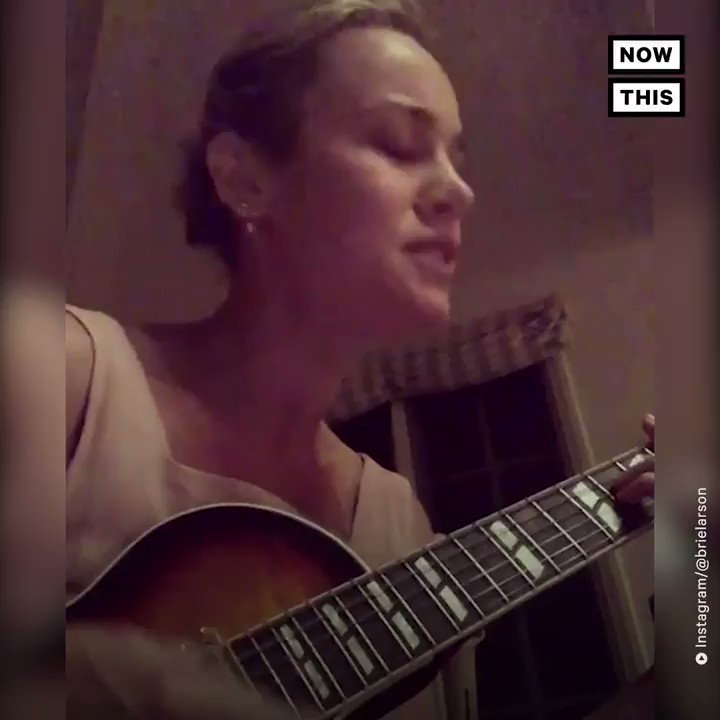 Brie Larson covered Ariana Grande's 'God Is a Woman' —and even got Ari's approval https://t.co/pGjvEUNtlz