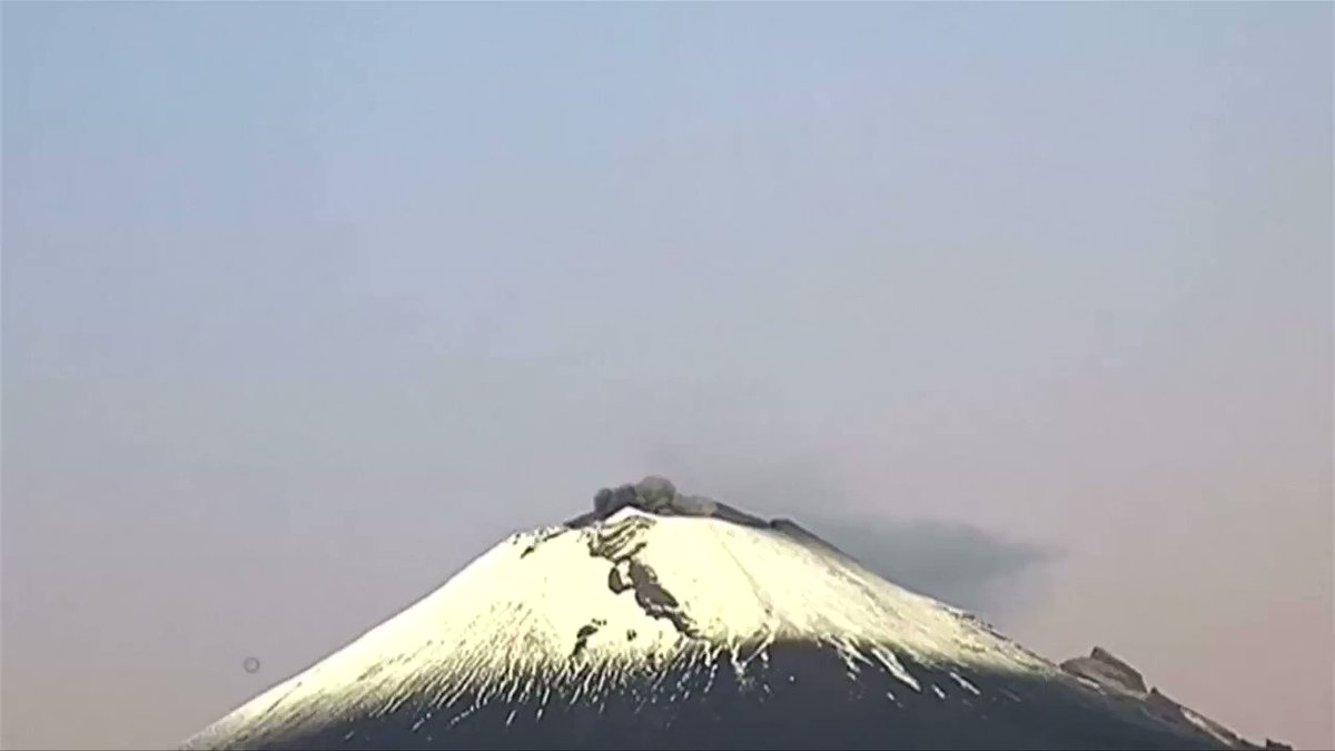 ICYMI: Mexico's Popocatepetl volcano erupted in a dramatic show of ash, water vapor and gas