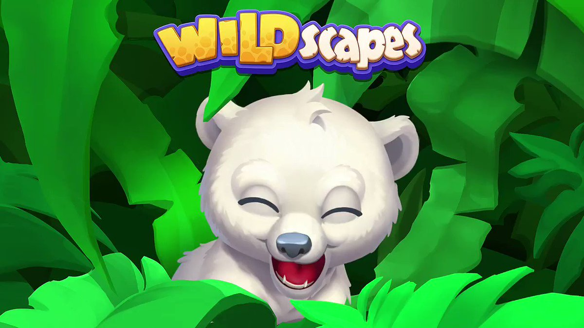 Wildscapes is now available on the App Store! 🐼🐘🐯It's 2 games in one! Build your own wildlife park and solve fun match-3 puzzles.Be one of the first to get it: https://t.co/Xzf5HrDRzB