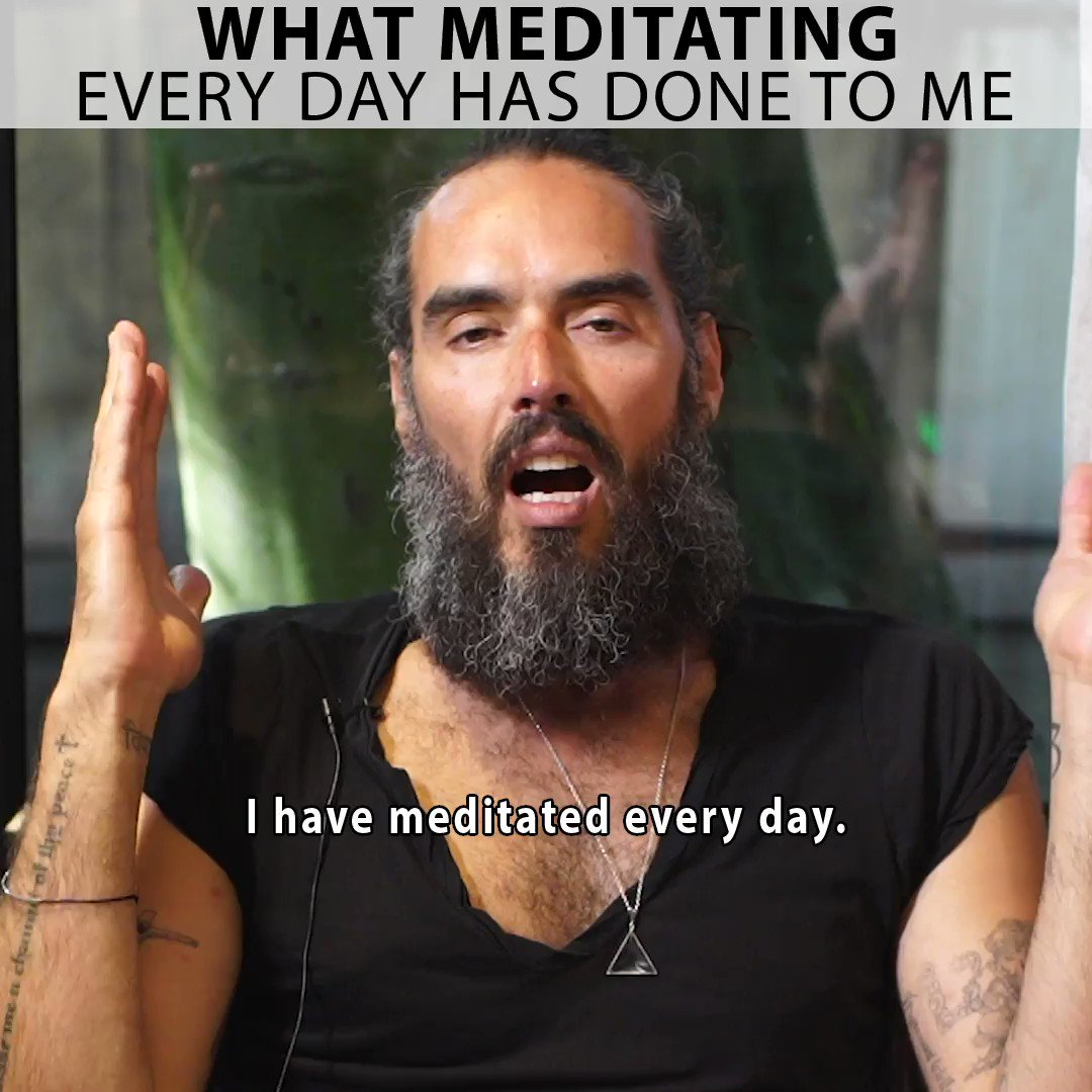 Do you meditate? This is what meditating every day has done to me...@andypuddicombe @deepakchopra @LynchFoundation