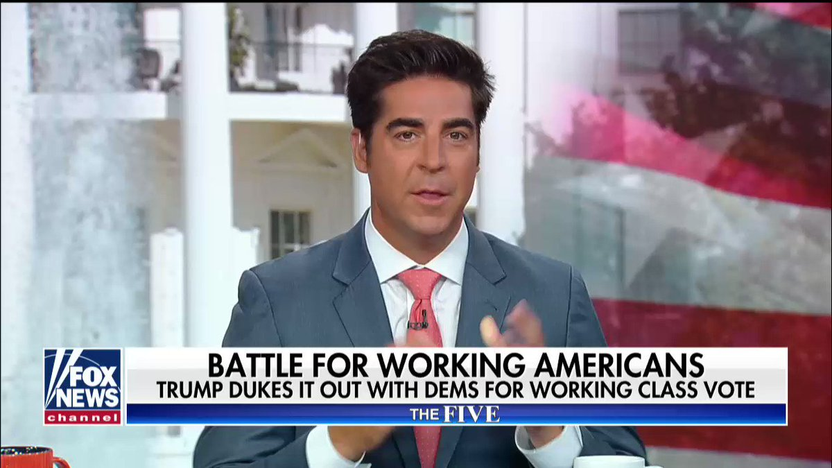 Trade, Immigration, and Energy; THAT is why The American Worker is now for the Republican Party under President @realdonaldtrump. #TheFive https://t.co/JJS1xRdPRU