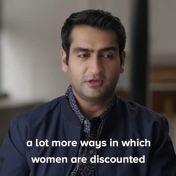 Kumail Nanjiani is raising his voice for women and we are here 👏 for 👏 it 👏https://yhoo.it/2yZYBBw