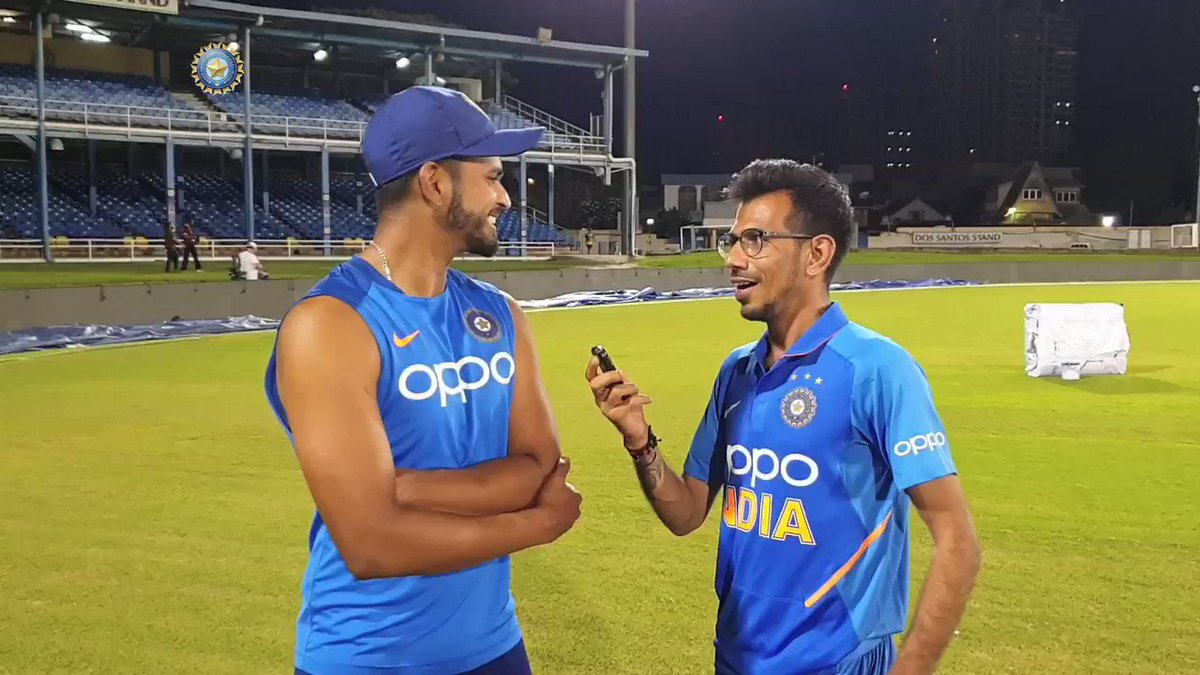 Shreyas adds new twist to Chahal TV 😎😎 What are @yuzi_chahal & Shreyas up to in this final episode of Chahal TV from the Caribbean? By @28anand Find out here 📹📽️bcci.tv/videos/id/7803… #WIvIND #TeamIndia