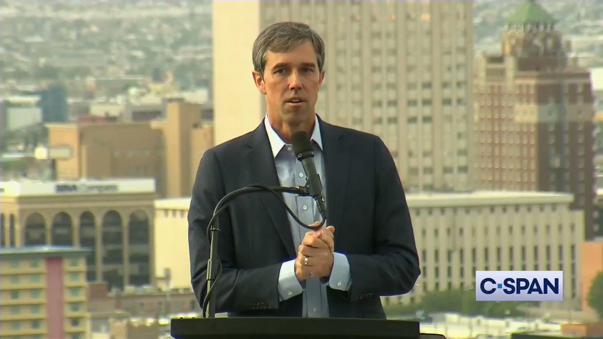 .@BetoORourke: There have even been some who have suggested that I stay in Texas and run for Senate, but that would not be good enough…we must take the fight directly to the source of this problem...