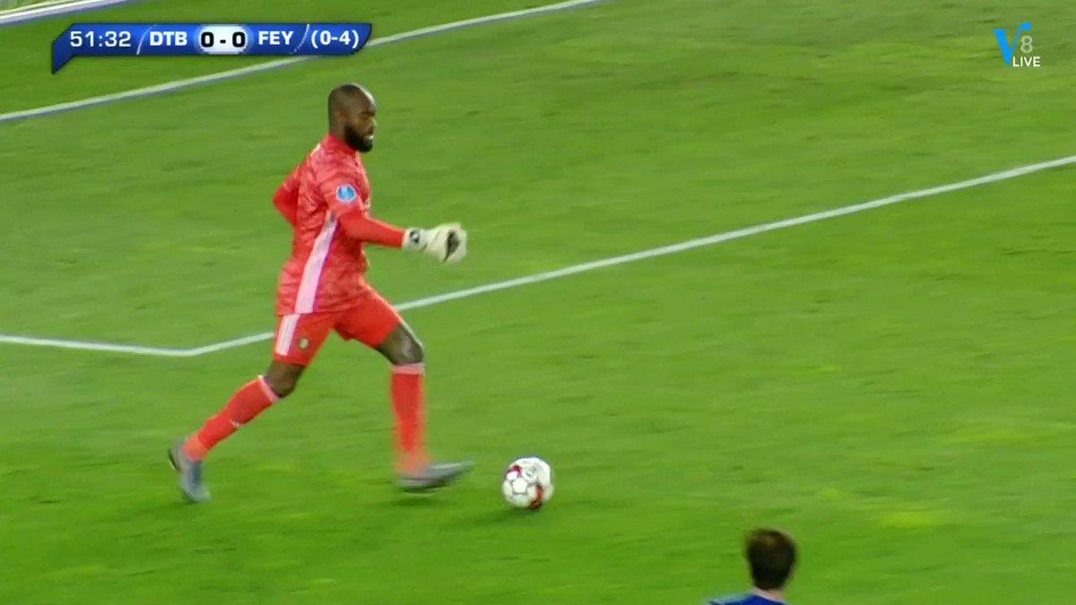 Dinamo Tbilisi - Feyenoord 1-0 door Levan Shengelia