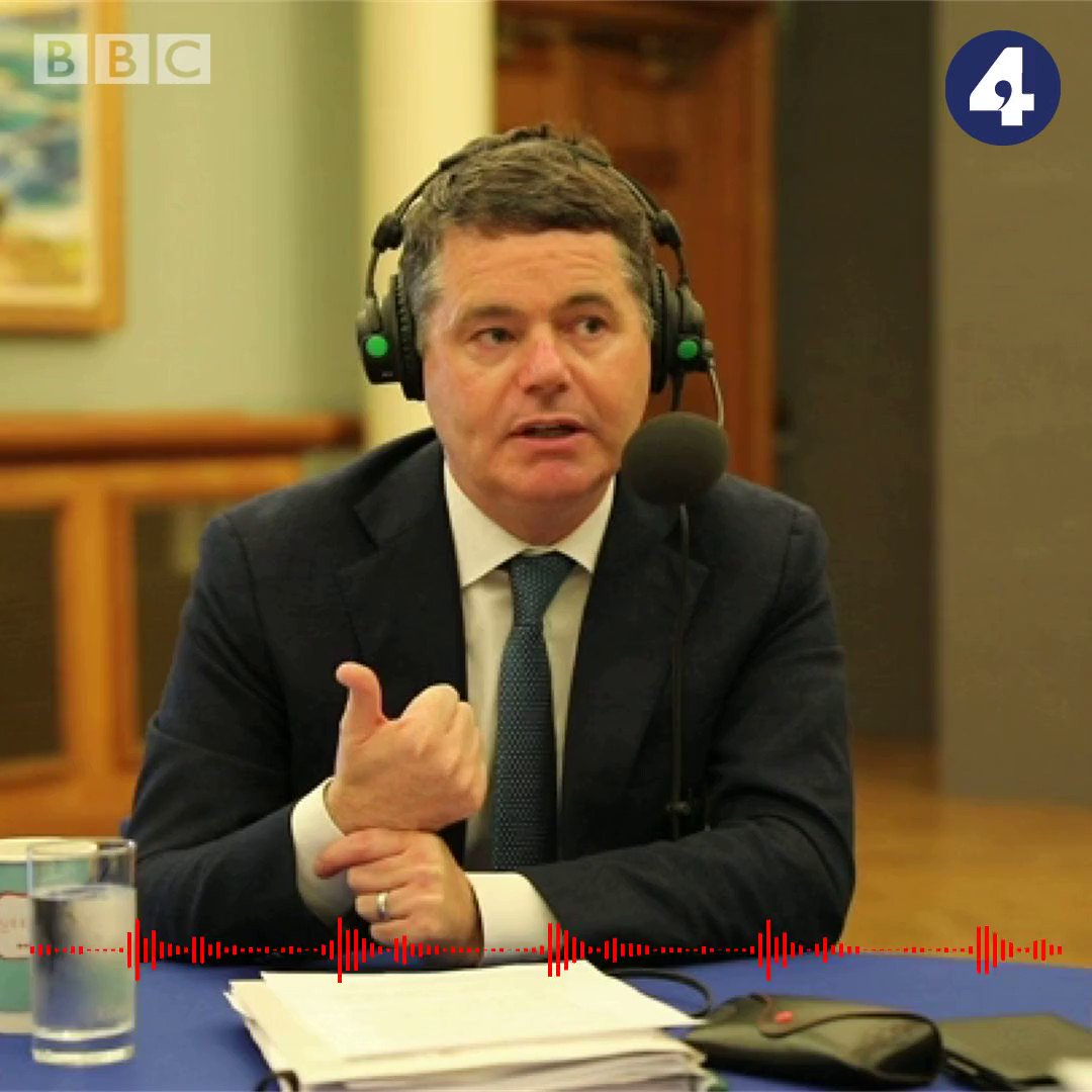 """""""That backstop is an insurance policy. And we need it.""""Irish Finance Minister @Paschald tells @BBCMarkMardell there is """"clear value"""" to the backstop  #bbcwato https://bbc.in/2z2oXCT"""