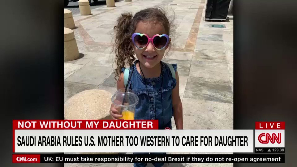 Saudi Arabia rules US mother is too western to care for her daughter: @nickwattcnn reports