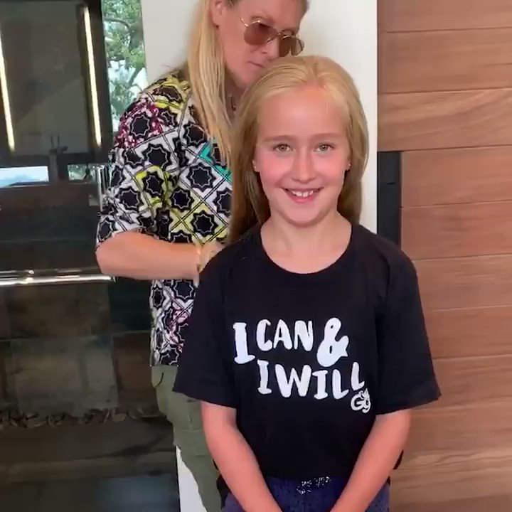 I am so proud of my niece Eva, who donated her hair to Locks of Love! Kindness has never been this adorable.