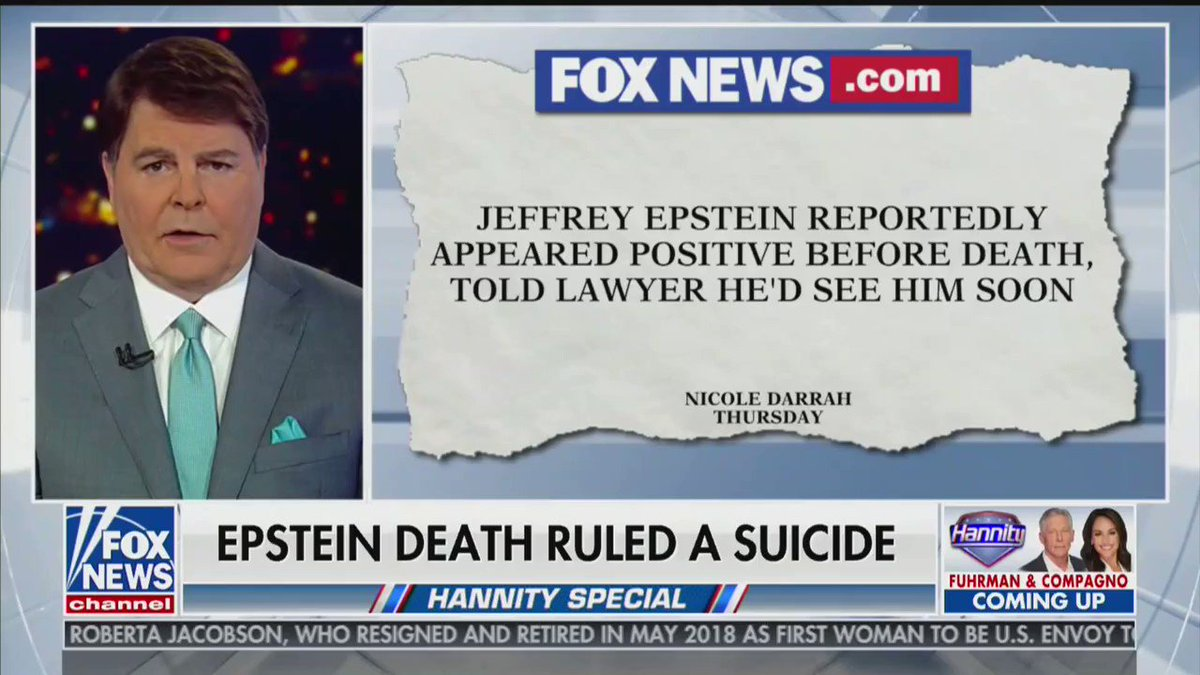 Image for the Tweet beginning: Fox News reports that some