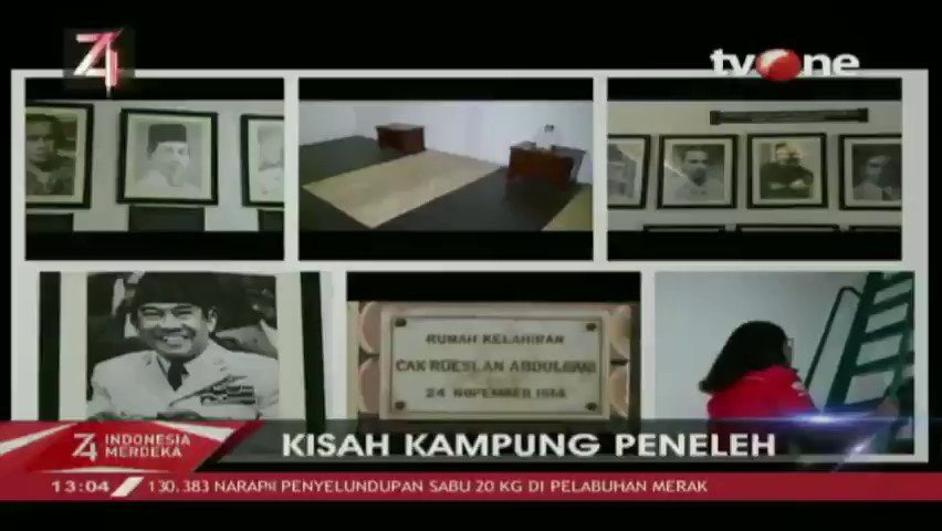 Sejumlah tokoh pernah tinggal di Rumah Tjokroaminoto, Soekarno terbiasa berdiskusi Rumah Tjokroaminoto & tuliskan pengalaman di Peneleh dalam buku. Selengkapnya di tvOne connect, http://bit.ly/2EMxVdm. #tvOneNews #RI74 #HUTRI74