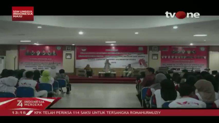 Kemhan mengadakan kegiatan talkshow memperingati HUT RI ke-74 di Tarakan, Kalimantan Utara. Kegiatan ini sebagai pembekalan untuk meningkatkan kecintaan pada NKRI dilanjutkan penanaman mangrove. #tvOneNews #HUTRI74 #RI74 #DirgahayuRI74