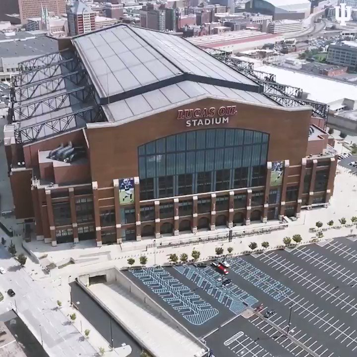 📍: @LucasOilStadium 🗓: TWO. WEEKS. #IUFB