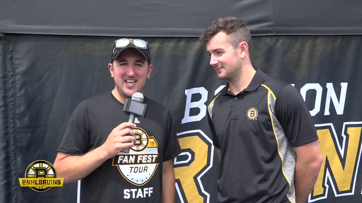 It definitely lit a fire under me. When you get a taste of it, you get really excited for the upcoming season. @ZachSenyshyn goes 1-on-1 during Day 3 of #BruinsTour in Burlington, VT to talk about his time with the #NHLBruins last spring: