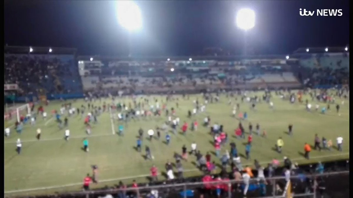 Three people were killed and at least 10 others injured after riots broke out before a football match in Honduras. itv.com/news/2019-08-1…