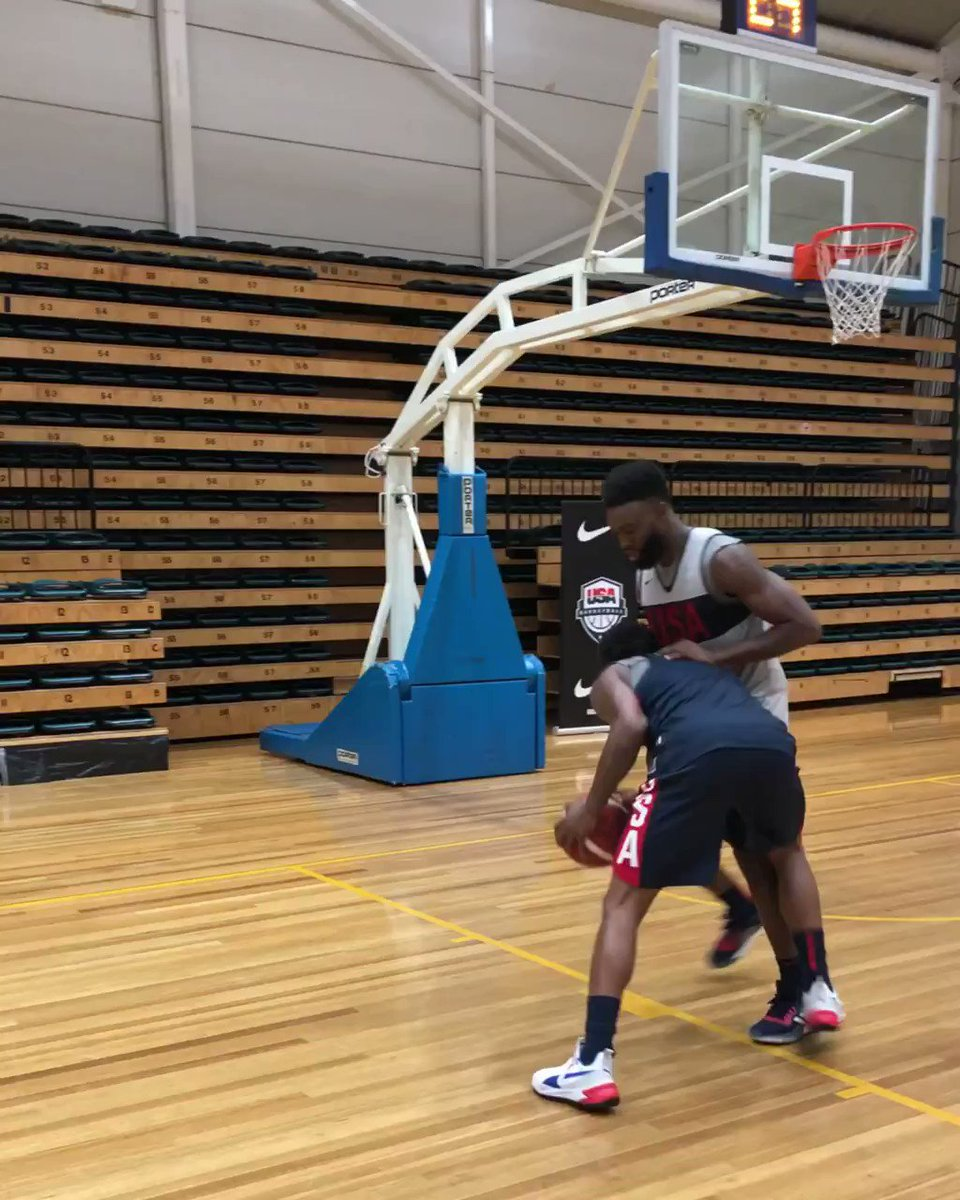 Jaylen Brown shines in ones following @usabasketball practice in Melbourne! #USAGotGame #USABMNT