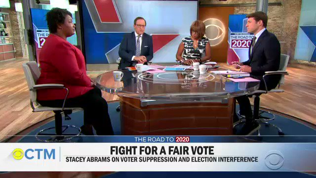 "Why haven't you conceded?""Because concession means to say that the process was fair… I am complicit if I say that that system is fair."" -- @staceyabrams"