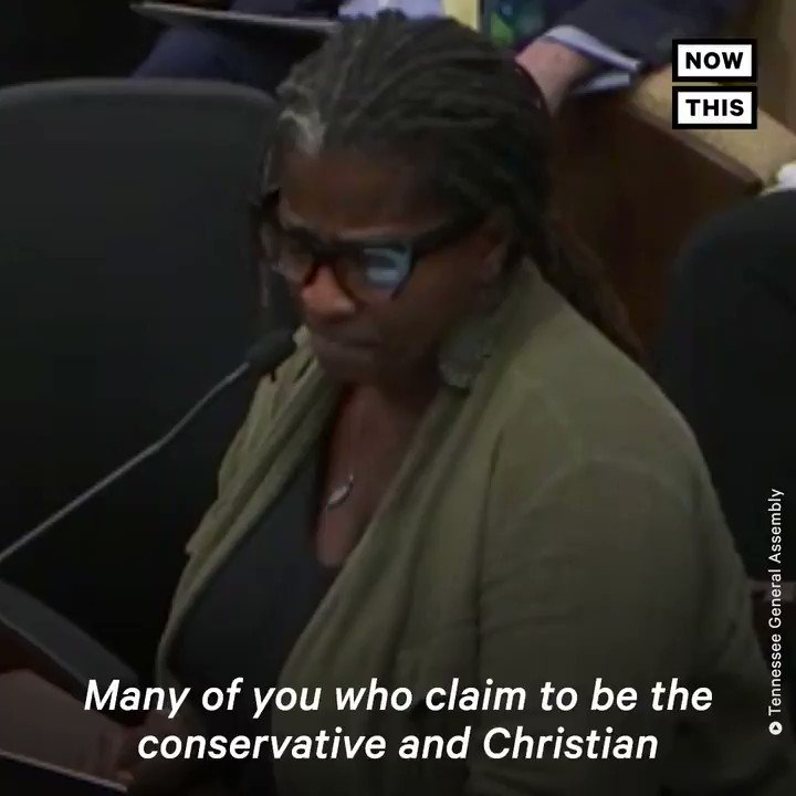Activist Cherisse Scott was supposed to be given 10 minutes before TN lawmakers to advocate against a bill that would nearly ban all abortions in the state. She was the only black woman on the panel. Her mic was cut off after she brought up white supremacy.