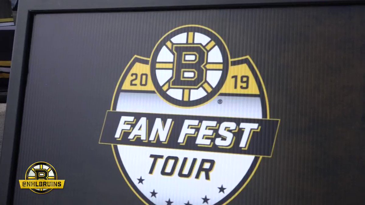The opening leg of #BruinsTour 2019 is in the books. Thank you to all of the #NHLBruins fans that made it out this weekend!