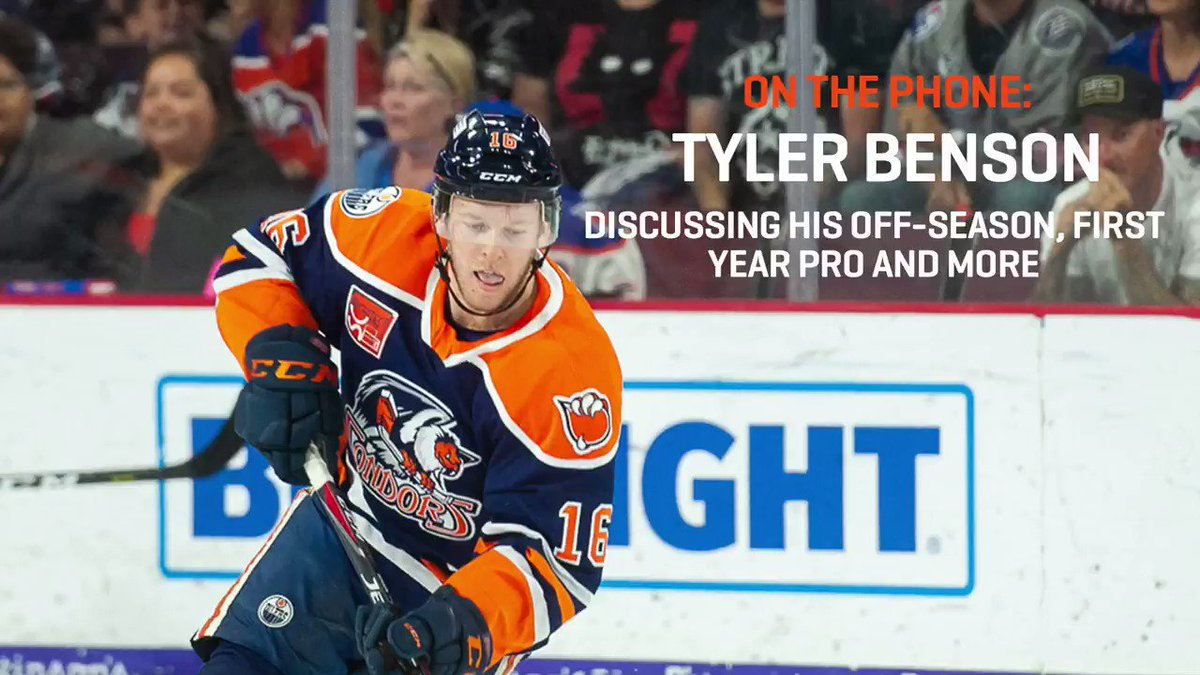 Tyler Benson has a singular goal in front of him. Prove myself at training camp to try & make the big team. Hear from the #Oilers forward prospect as he delves into his off-season that has centred around earning full-time @NHL work come fall.