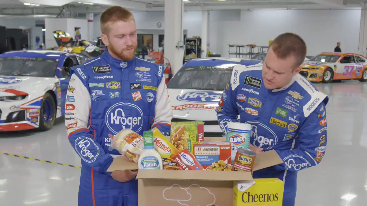 Image for the Tweet beginning: .@Chris_Buescher and @RyanPreece_ are trained