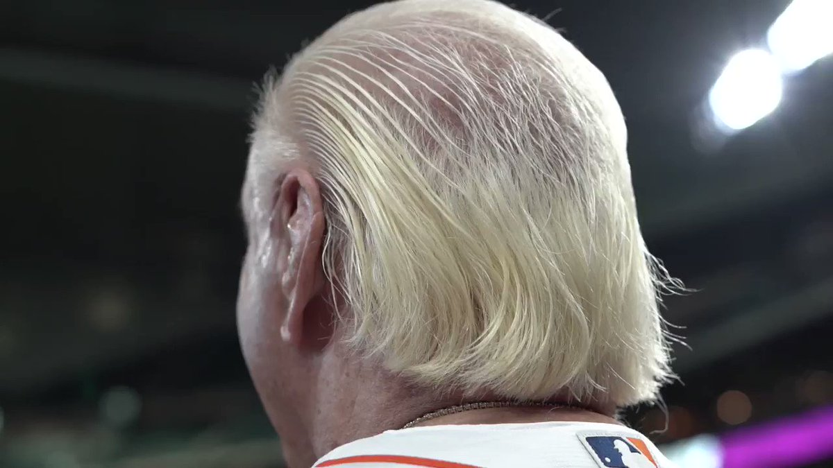 Ric Flair visits Astros, throws first pitch