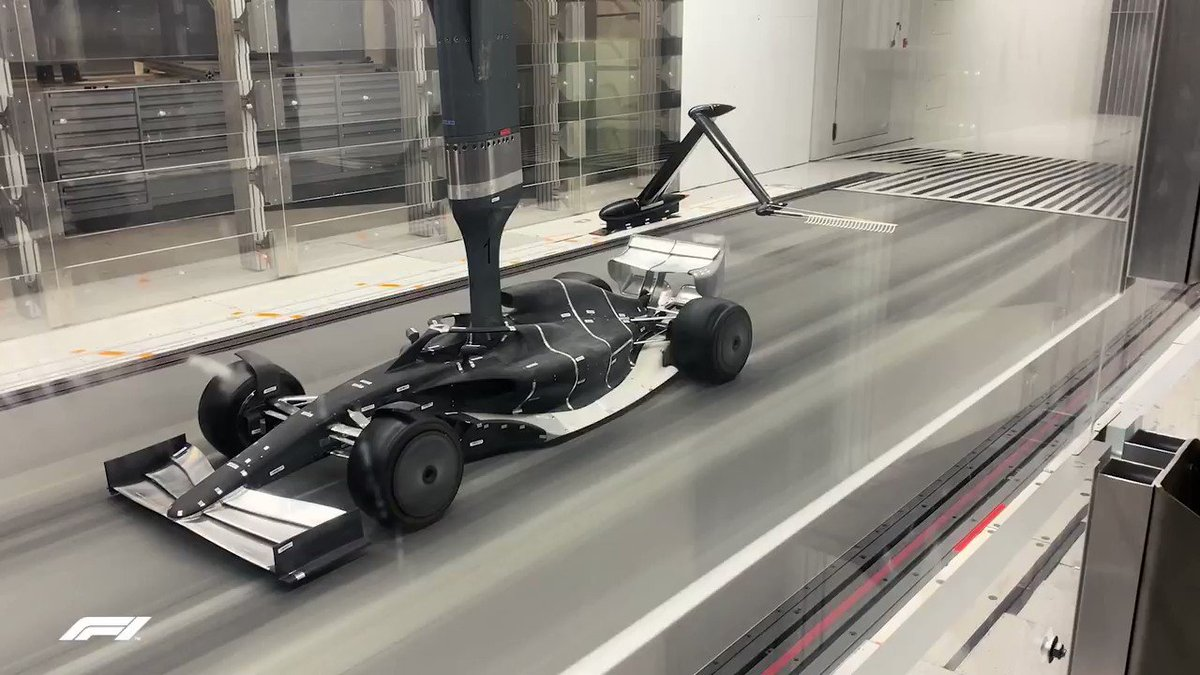 #F1 - In exclusivity we can bring you the first shots and video of an iteration of the 2021 car undergoing testing in the wind tunnel…  https://www.fia.com/news/f1-first-look-formula-1s-2021-car-wind-tunnel…