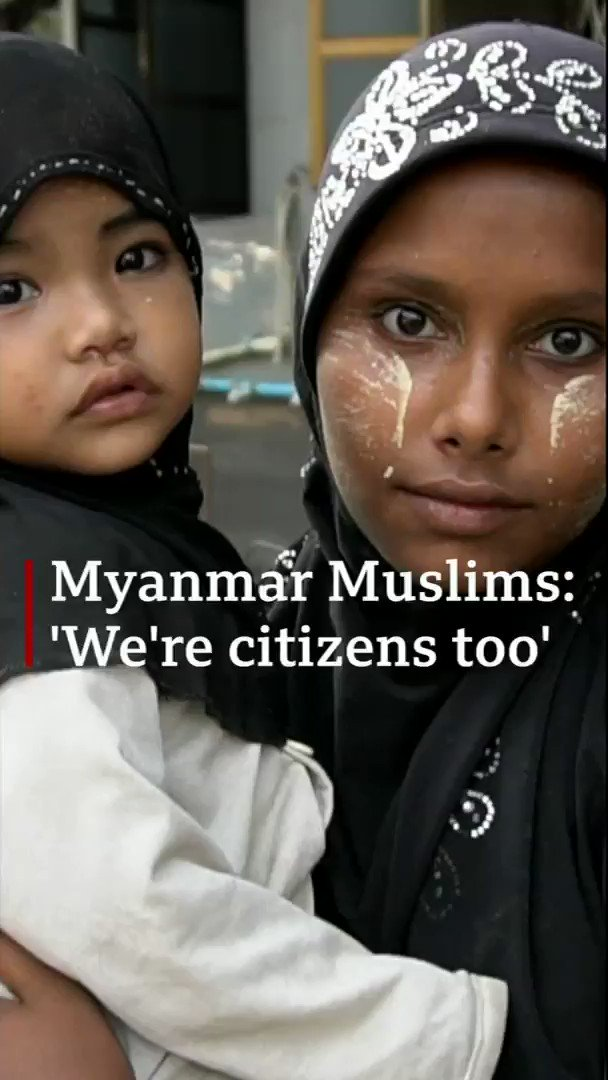 """""""She found out I am Muslim and said: 'We won't do it for you'""""From difficulties in getting jobs to increasing online abuse, some Muslims in Myanmar are uneasy over what they say are signs of discrimination[Tap to expand] http://bbc.in/2zfrLN8"""