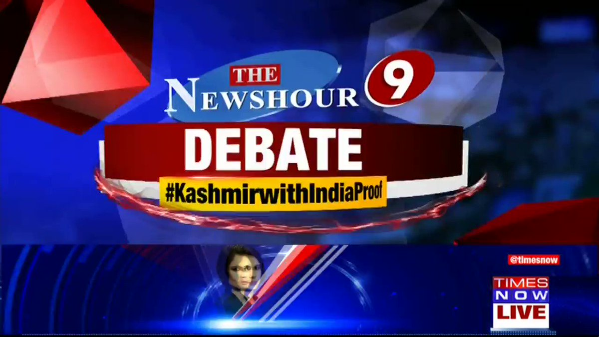 Listen in: The debate gets heated on @thenewshour with Madhavdas G. | #KashmirWithIndiaProof