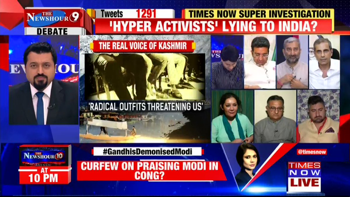90 days after PM @narendramodi took oath, truth tumbles out of closet. Gandhis exposed by close aide. The biggest political row of 2019.Join Madhavdas G on @thenewshour. | Tweet with #GandhisDemonisedModi