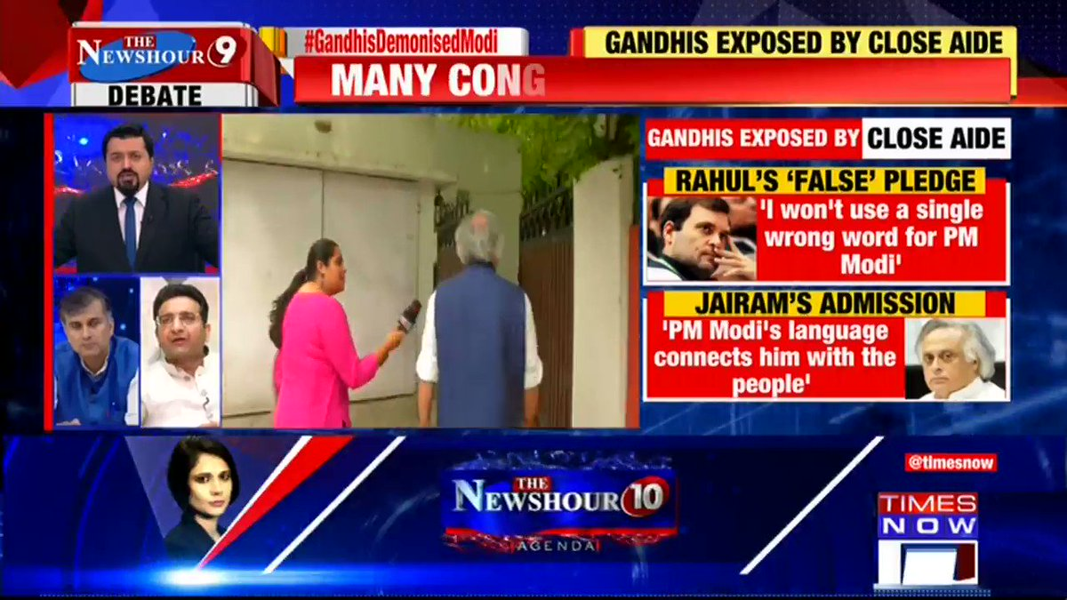 Congress is a democratic party and everybody has their own voices: @ChetanNature, Political Analyst, tells Madhavdas G on on @thenewshour. | #GandhisDemonisedModi