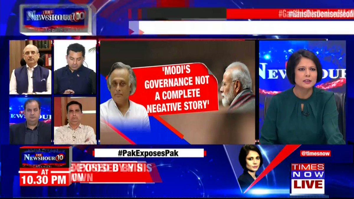 It is not a change of heart but it is about the division in Congress: @NalinSKohli, National Spokesperson, BJP, tells Padmaja Joshi on @thenewshour AGENDA. |  #GandhisDemonisedModi