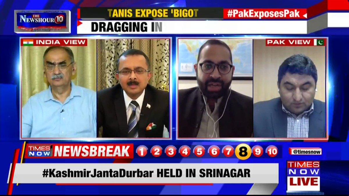 Pakistan's performance in the last 9 months have been more cosmetic than actual: Vivek Katju, Former Secretary, MEA, tells Padmaja Joshi on @thenewshour AGENDA. | #PakExposesPak