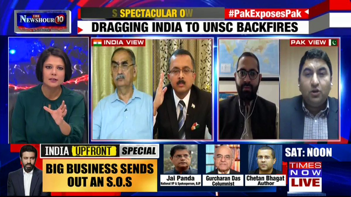 Listen in: The debate gets heated on @thenewshour AGENDA with Padmaja Joshi | #PakExposesPak