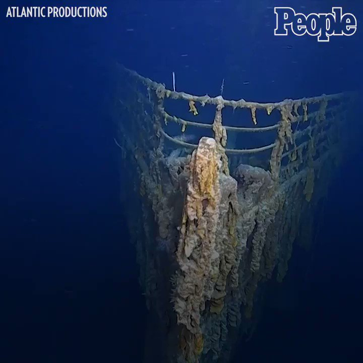 RT @people: A group of divers recently came back from the first visit to the Titanic shipwreck in 14 years. https://t.co/vROE3jQTho