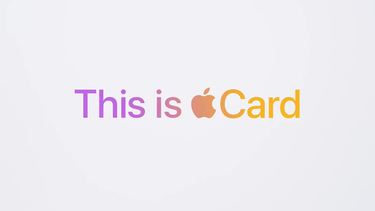 Titanium, laser-etched, and accepted all over the world. With no visible card number and no signature, Apple Card is more secure than other credit cards. Apply now: https://t.co/35xCNO0SMq Terms apply. https://t.co/RrR4NVnshc