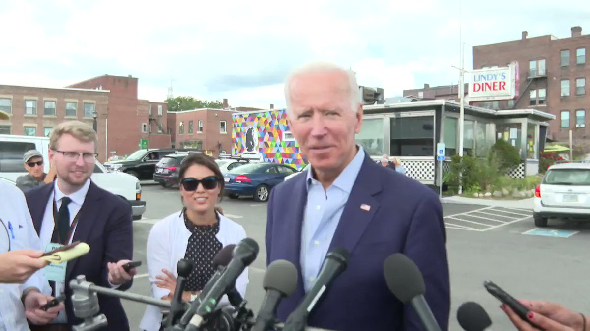 (Video) Biden Mistakes New Hampshire For Vermont At Campaign Stop